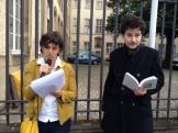 Rita Reis, comédienne François Baldassare, comédien, réalisateur Lecture de poèmes de Anise Koltz et Sophia de Mello Breyner